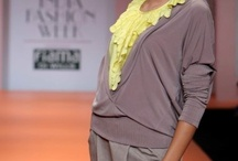 "Ranna Gill / Collection of ensembles presented by Ranna Gill at ""Wills Lifestyle India Fashion Week"" from 2009 onwards."