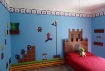 Nate and Jax'  Mario room
