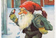 gamle norske julekort