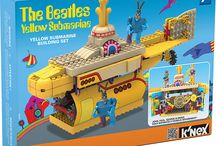 K'NEX Announces New Additions to its Line of The BEATLES YELLOW SUBMARINE Building Sets / Hatfield, PA, February, 2013 – K'NEX, the only US construction toy company focused on Building Worlds Kids Love®, is pleased to introduce 2 new additions to its popular The Beatles Yellow Submarine building set product line.