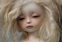 Hello Dolly..... / Felt, fabric, paper clay, or altered vinyl....