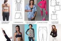 Activewear sewing pattern