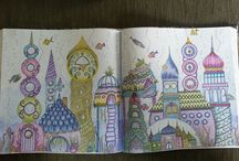 Colouring In / A journey of colouring in.