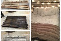Wood Pallet Beds