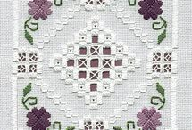 Embroidery: Hardanger
