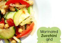 Food- for the Salad plate / I love salads!