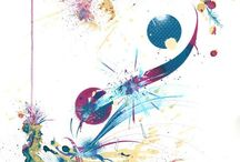 Derwent Carne Griffiths / Dedicated to the work of Carne Griffiths using Derwent Graphik Line Makers