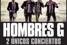 """Conciertos Hombres G """"En la playa"""" 2012 / Próximos conciertos de Hombres G en España, Perú, Venezuela, Colombia, Los Ángeles. Pronto mas fechas También puedes consultarlo en www.hombresg.net y en nuestro facebook Hombresg.Net"""