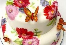 maľované torty