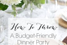 Dinner Party & Entertaining Ideas for Family & Friends