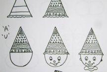 Desene din litere