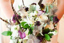 Boho feather wedding