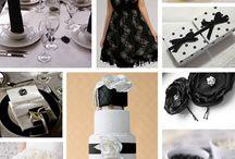 White and Black Weddings