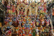 NAVARATRI 2014 GOLU BOMMAI & GOLU PADI DISPLAY @ MYLAPORE BRANCH