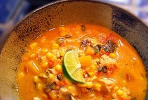 Soups, Chowders, Chilies & Stews / by Barbara Peers Robeson