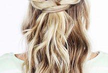 | BAM | Half updo wedding hair