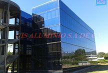 Gis aluminio / ventanas , puertas cristal templado