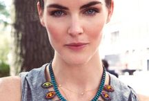 Top model Hilary Rhoda