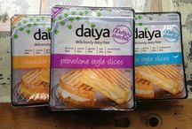 """Daiya"" comida vegana. / Marca de comida vegana!"