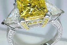 Love for Natural (Fancy) Yellow Gems / by Heather Riehle
