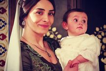 Sultana / woman on ottoman