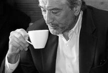 Celebs N' Coffee / Celebrities drinking coffee