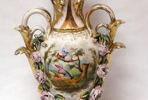 Porcelain vases, japanese,chinese.....