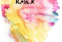 DIY art inspo - watercolor and words / Do-It-Yourself watercolor inspiration