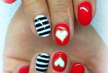 Valentin-napi körmök / Valentine-day nails
