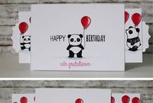 Stamp Sets - Party Pandas