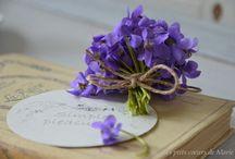 J'aime les violettes