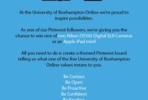 Roehampton Online Values (Be Curious)