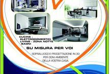 Traslochi Intesa - Divisione arredamento / Sopraluogo e progettazione in 3D per ogni ambiente della Vostra Casa