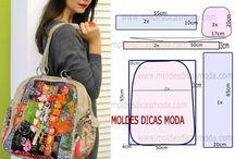 patchwork bolsas e mochilas