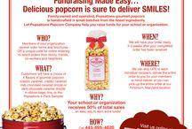 Fundraising Ideas / Fundraising Program / by Popsations Popcorn Company