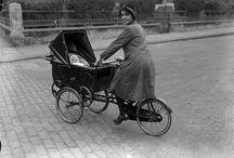 gyerekszállító bicikli