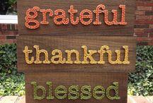 Thanksgiving Nail and String Art