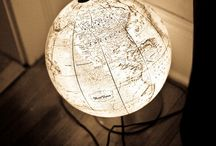 Lampen / Globe lamp