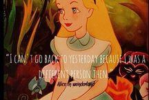 Alice In Wonderland / by Kayla Christine Keppel