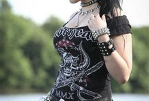 Metal,Rock,Gothic,Punk Girls