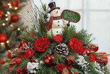vianočné aranžmé