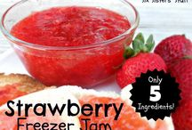 JAMS-JELLIES-SYRUPS-SAUCES-YUMMY! / HOMEMADE....the best! / by Linda PrattChaffins