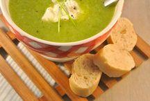 Eten: soepen en voorgerechten