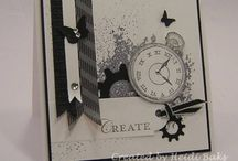 Stampin' Up! - Clockworks / cards and projects created with Stampin' Up! Clockworks stamp set