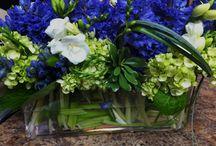 casamento em azul