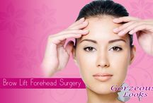 Brow Lift Forehead Surgery / Eyelid Correction / Blepharoplasty