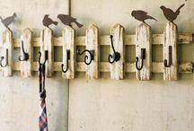 вешалки ключницы