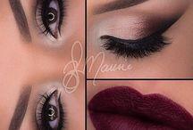 Burgundi lips