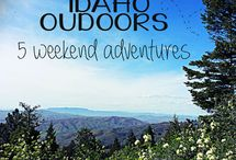 Idaho Outdoor Adventures / Here are some ideas on what you can do outdoors in Idaho.
