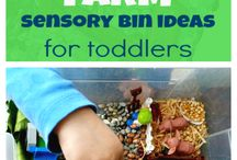 Theme - Farms / Preschool activities focused on farms and it's animals.